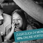 Doppelter Online-Vorteil: 24 Monate 10 % bei MagentaZuhause sparen!