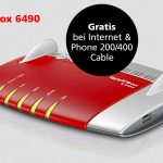Vodafone Kabel-Aktion: FRITZ!Box 6490 24 Monate gratis