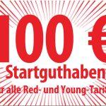 100,- € Startguthaben bei Vodafone Mobilfunktarifen