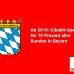 Vodafone will Bayern ab 2019 zum ersten Gigabit-Bundesland machen