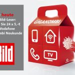 Nur heute: Vodafone GigaKombi Rabattaktion für Bild-am-Sonntag-Leser