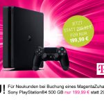 MagentaZuhause: PlayStation®4 für nur 199,99 €