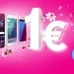 Verlängert! Top-Smartphones in allen Tarifen für 1,- €