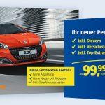 1&1 All-Net-Flat bestellen und neuen Peugeot 208 erhalten