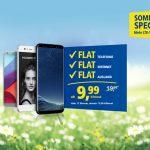 1&1 Sommer Special: All-Net-Flats mit 4-fachem Datenvolumen