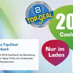 Unitymedia Top-Deal Juli: 20,- € Cashback