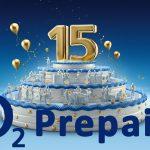 o2 Prepaid All-in 15 zum Geburtstagspreis