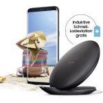 Samsung Galaxy S8 bestellen und gratis Schnell-Ladestation erhalten