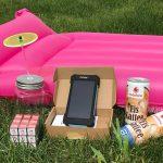 anschlussberater Sommer-Gewinnspiel: Solar Powerbank und Luftmatratze für Ihren Urlaub