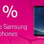 Alle Samsung Smartphones bei der Telekom zum halben Preis