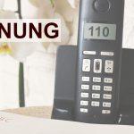 Trickbetrüger geben sich am Telefon als Polizisten aus