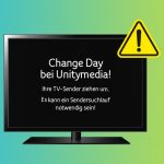 Neusortierung der TV-Programme bei Unitymedia