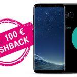 Telekom Cashback-Aktion: Bis zu 100,- € für MagentaMobil Tarif mit Samsung Galaxy S8/S8+