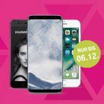 Top-Smartphones ab 1,- €