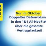 1&1 All-Net-Flat mit doppeltem Datenvolumen