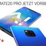 Huawei Mate20 (Pro) vorbestellen: Amazon Echo Plus/Show kostenlos erhalten
