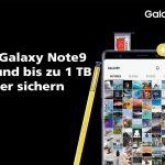 Samsung Galaxy Note9 mit gratis 512 GB microSD-Karte