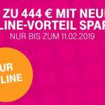 Sparen Sie bis zu 444 € mit dem aktuellen Telekom Online-Vorteil!