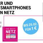 Smartphones für 1,- € bei der Telekom
