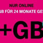 Telekom MagentaMobil: Bis zu 6 GB mehr Datenvolumen