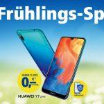 Gratis Huawei Y7 (2019) im 1&1 Frühlings-Special
