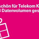 Telekom Geschenk: 500 MB Datensnack