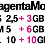 Telekom MagentaMobil: Bis zu 10 GB zusätzliches Datenvolumen