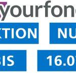 Preissenkung um 2,- €/Monat für yourfone LTE-Tarife