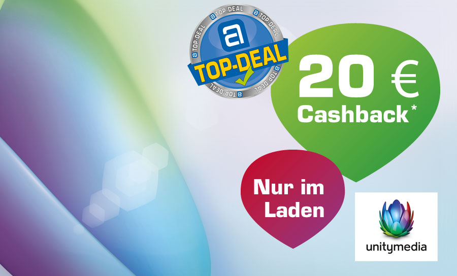 Unitymedia Top-Deal: 20 € Cashback